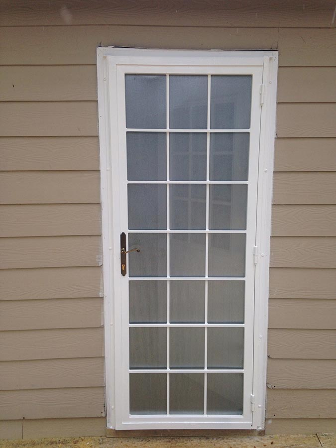 Medallion Security Grid Security Doors were designed to look like they matched the grid window guards. Since most homes have the grids in the window ... & Grid Security Doors | Medallion Security Fayetteville GA